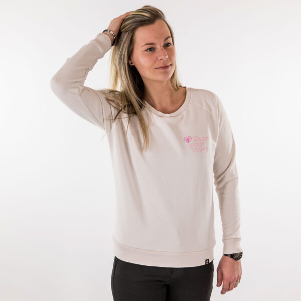 Share your story sweater dames