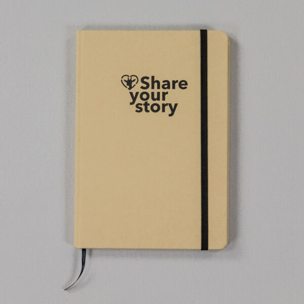 Share your story notebook